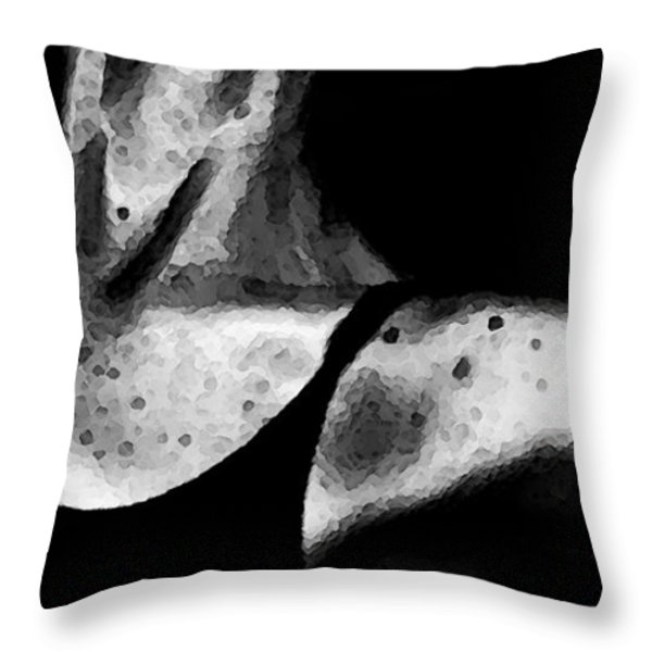 Tiny Dancer Throw Pillow by Sharon Cummings