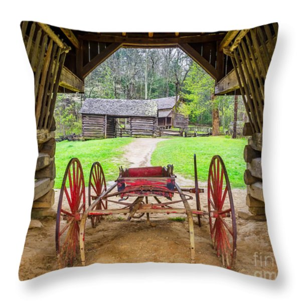 Tipton Place Throw Pillow by Anthony Heflin