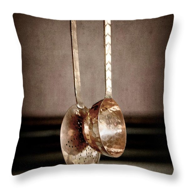 Together Throw Pillow by Trish Mistric
