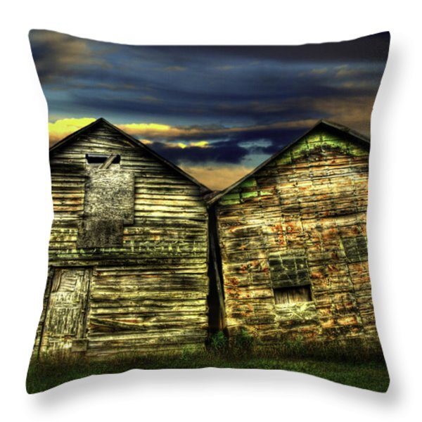 Together Until The End Throw Pillow by Thomas Young