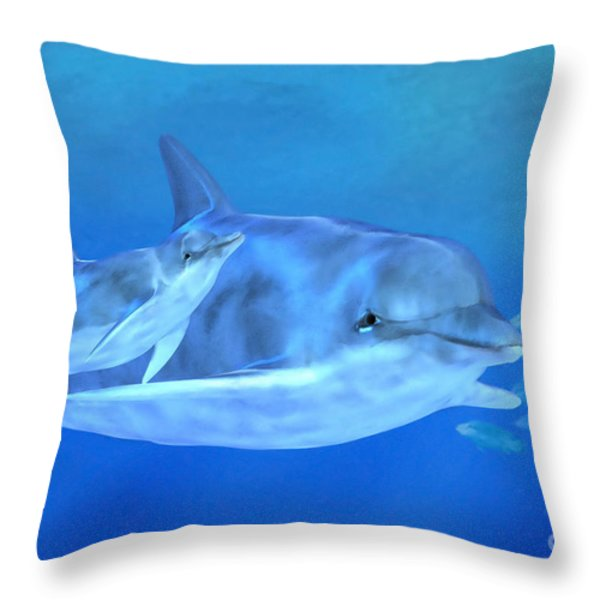 Togetherness Throw Pillow by John Edwards