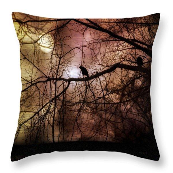 Tomorrow  Throw Pillow by Bob Orsillo