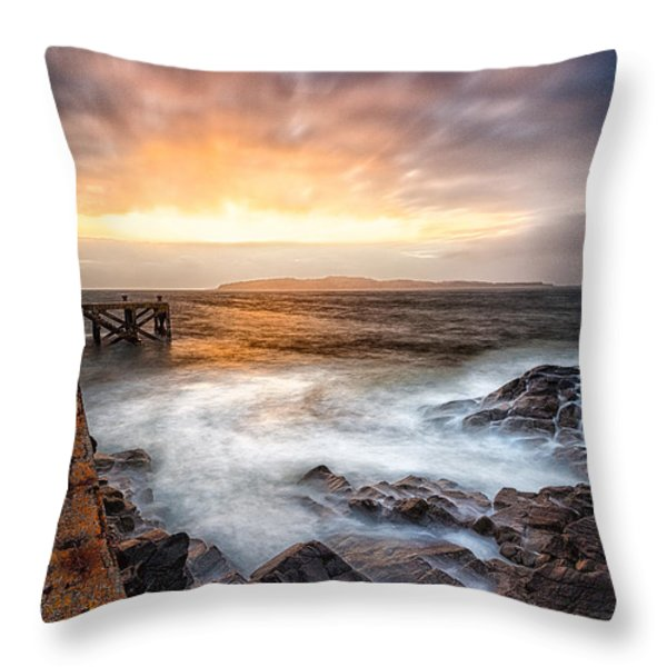Tomorrow Throw Pillow by John Farnan