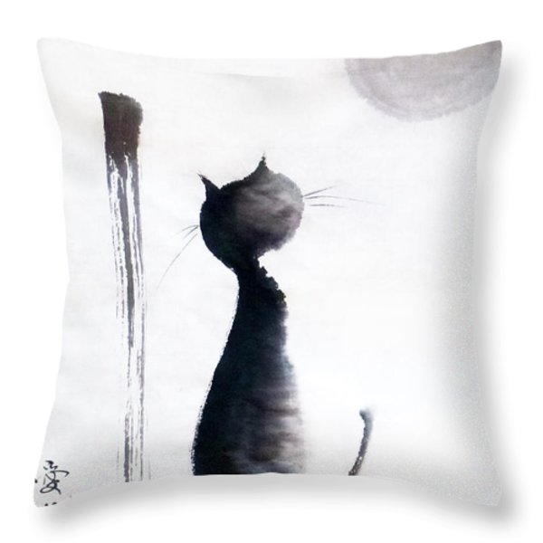 Tomorrow Will Be A Better Day Throw Pillow by Oiyee  At Oystudio