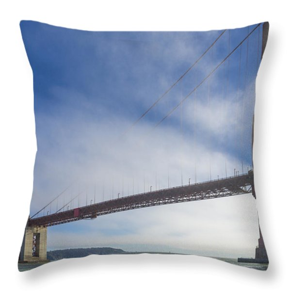 Too Tall Throw Pillow by Scott Campbell