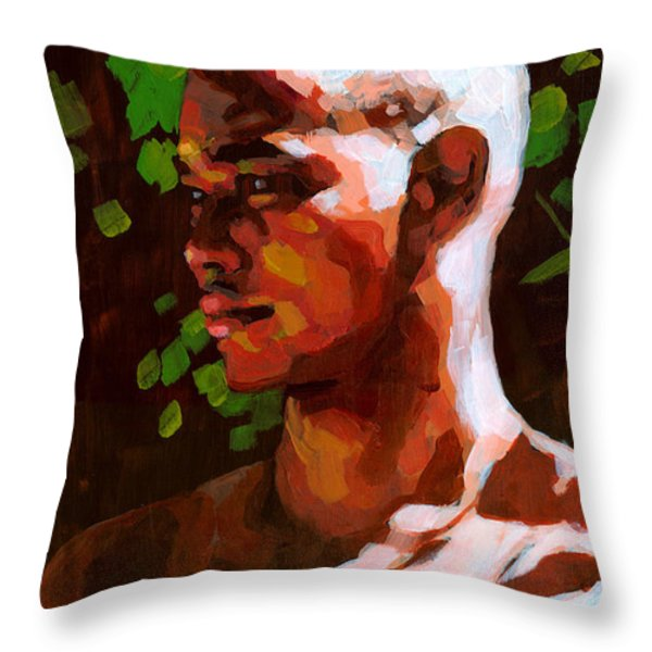 Torano in the Afternoon Throw Pillow by Douglas Simonson