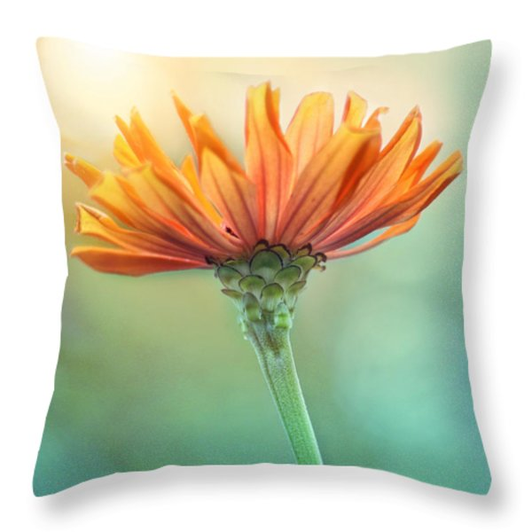 Torch Song Throw Pillow by Amy Tyler