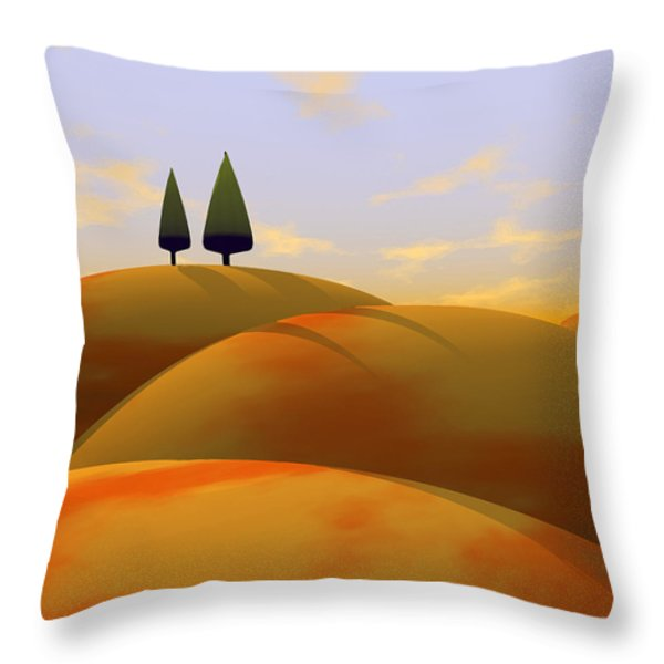 Toscana 1 Throw Pillow by Cynthia Decker
