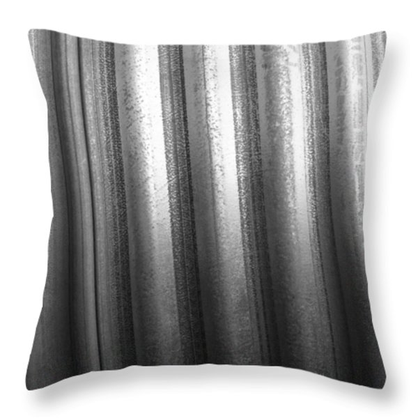 Totally Tubular Throw Pillow by Luke Moore