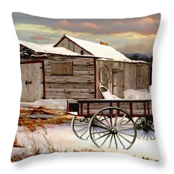 Touch of Spring Throw Pillow by Ronald Chambers