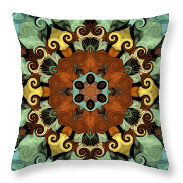 Tourlidou s01-01 Throw Pillow by Variance Collections