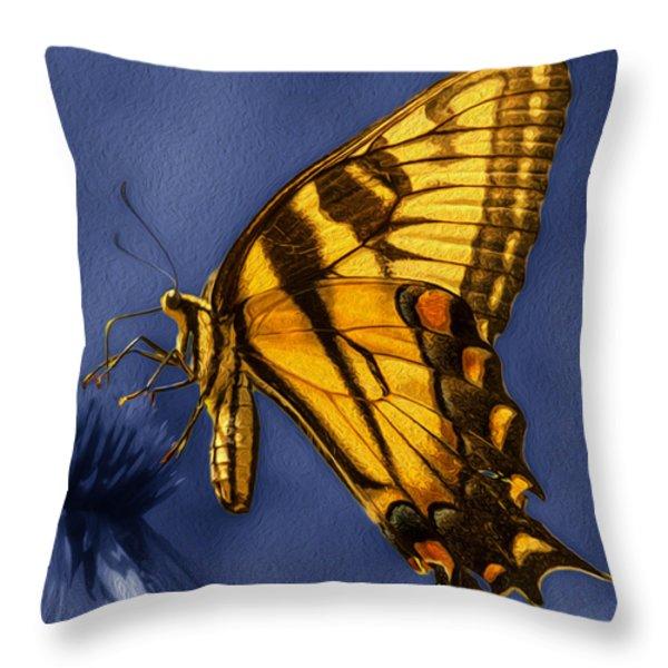Toward The Sun Throw Pillow by Jack Zulli