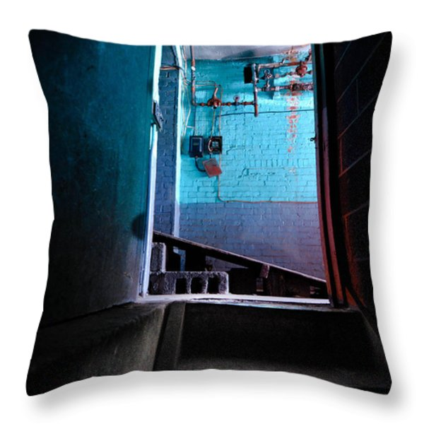 Towards The Glow Throw Pillow by Amy Cicconi
