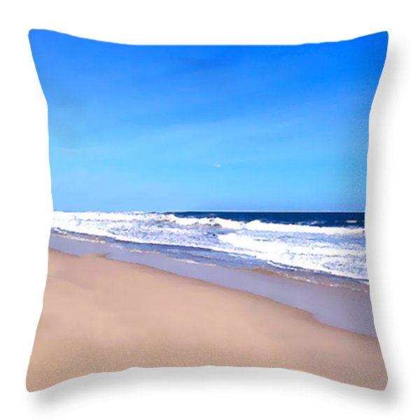 Tranquility     Throw Pillow by Iconic Images Art Gallery David Pucciarelli