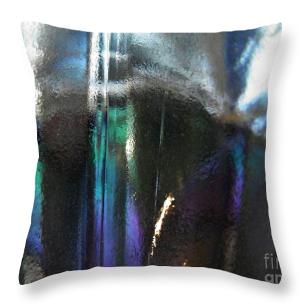 Transparency 4 Throw Pillow by Sarah Loft