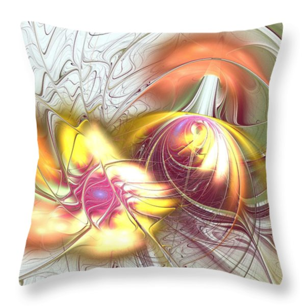 Transwarp Throw Pillow by Anastasiya Malakhova