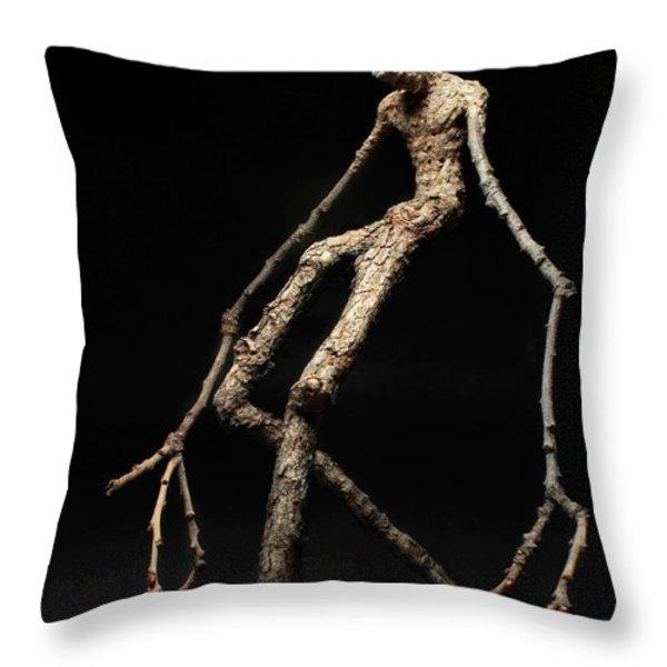 Travail Throw Pillow by Adam Long