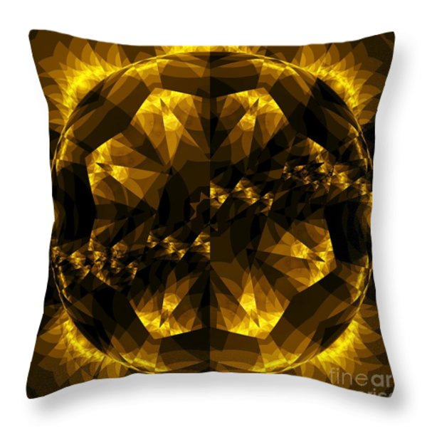 Traveler  Throw Pillow by Elizabeth McTaggart