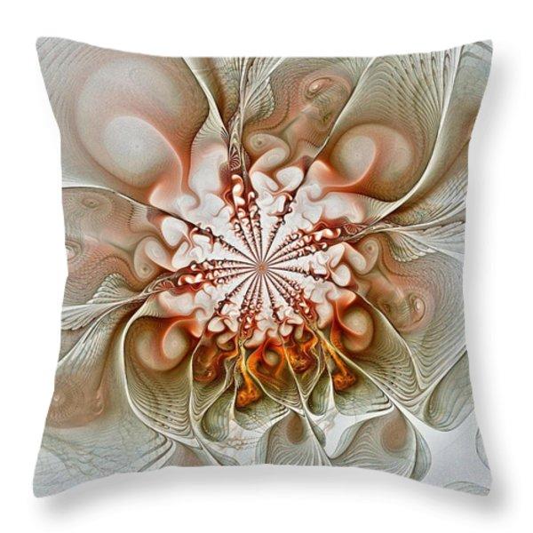 Treasured Throw Pillow by Amanda Moore