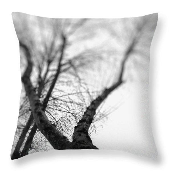 Tree Throw Pillow by Taylan Soyturk