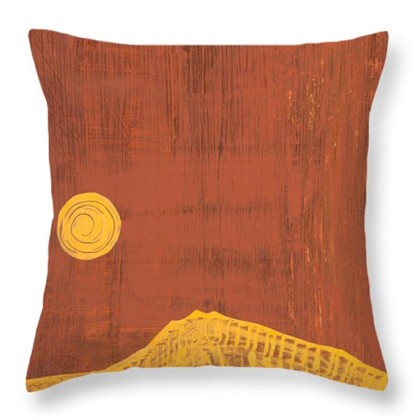 Tres Orejas Original Painting Throw Pillow by Sol Luckman