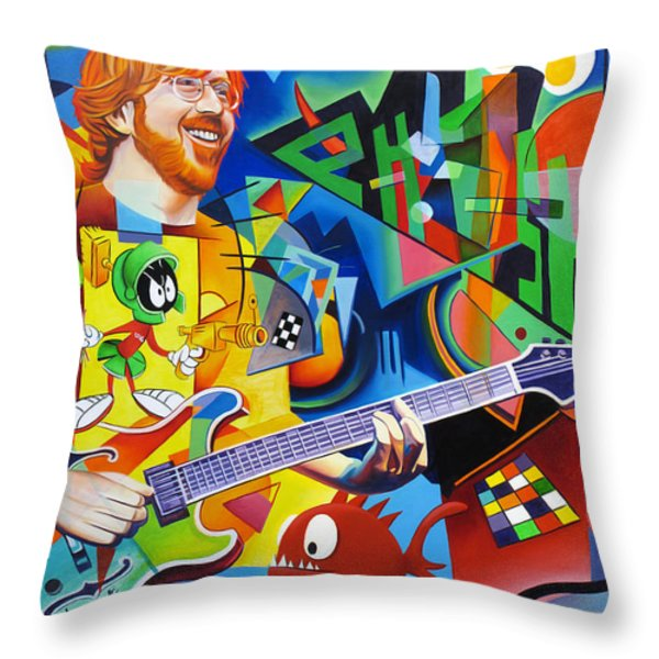 Trey Kandinsky  Throw Pillow by Joshua Morton