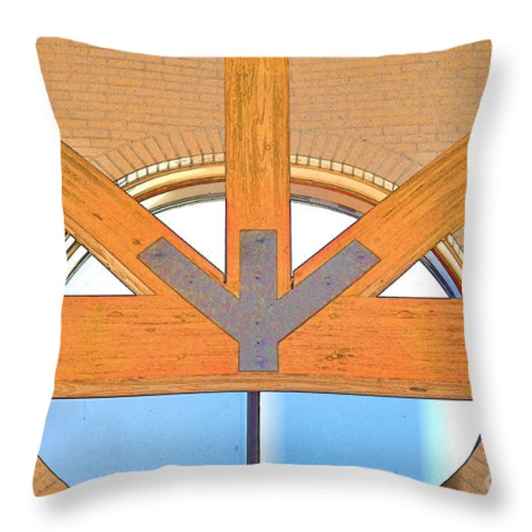 Trinity Series  2 Throw Pillow by Luther   Fine Art