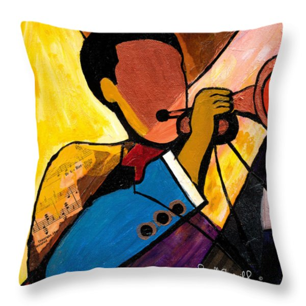 Trip Trio 1 Of 3 Throw Pillow by Everett Spruill