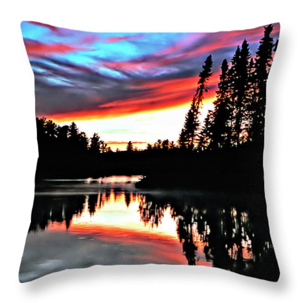 Tripping Throw Pillow by Steve Harrington