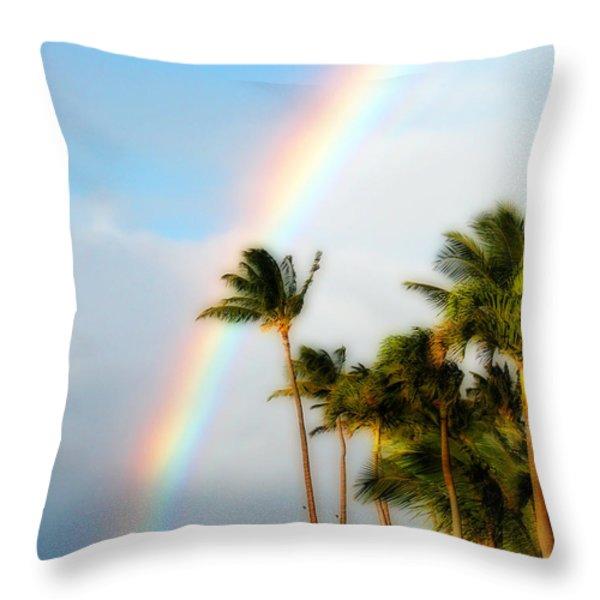 Tropical Dreamin' Throw Pillow by Lynn Bauer