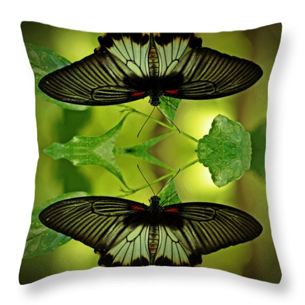 Tropical Paradise Throw Pillow by Inspired Nature Photography By Shelley Myke