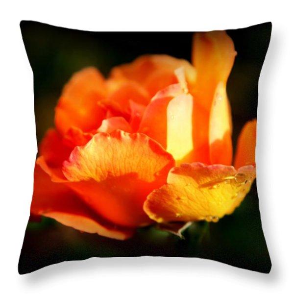 Tropicana Throw Pillow by Karen Wiles