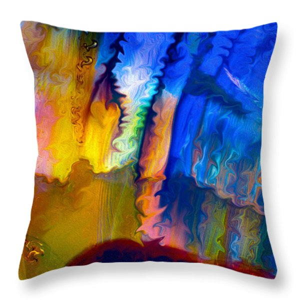 True Love Throw Pillow by Omaste Witkowski