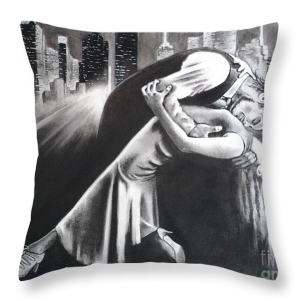 True Romance Throw Pillow by Carla Carson