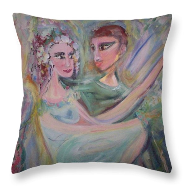 Trust Me On This Throw Pillow by Judith Desrosiers