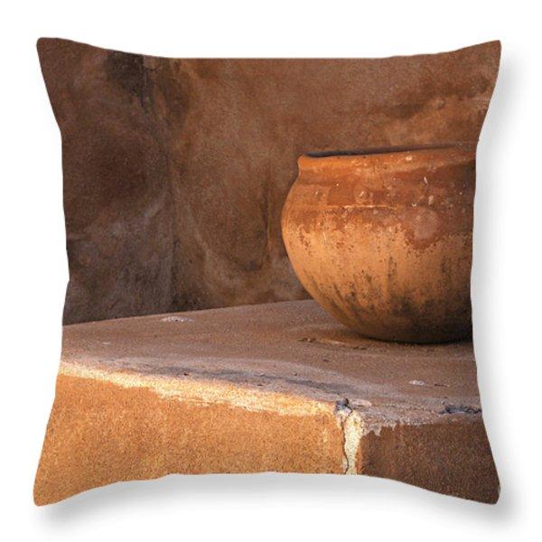 Tumacacori Arizona 2 Throw Pillow by Bob Christopher
