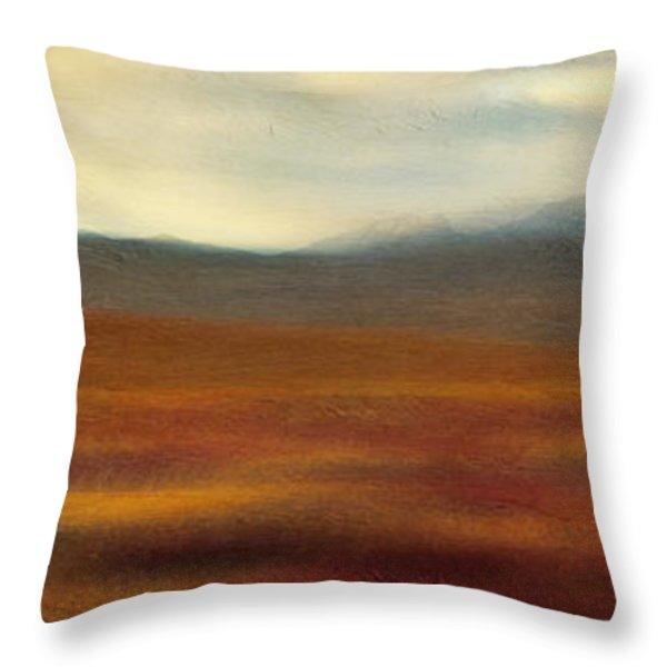 Tundra Autumn Melody Throw Pillow by Priska Wettstein
