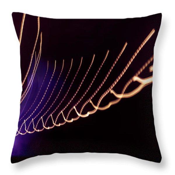 Tunnel 101 Throw Pillow by Janice Sullivan