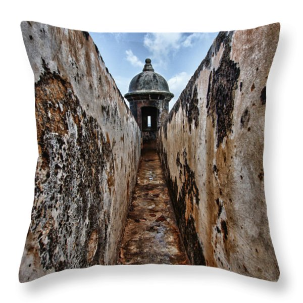 Tunnel Throw Pillow by Giovanni Arroyo