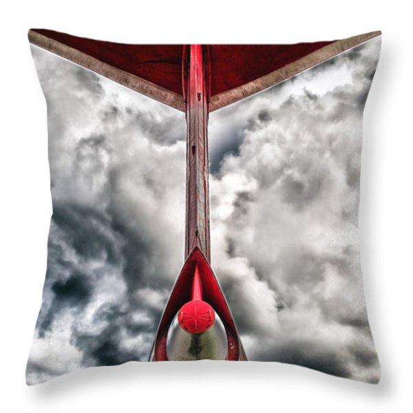 Tupolev Tu-154  Throw Pillow by Stylianos Kleanthous