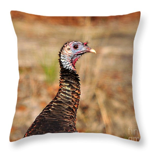 Turkey Profile Throw Pillow by Al Powell Photography USA