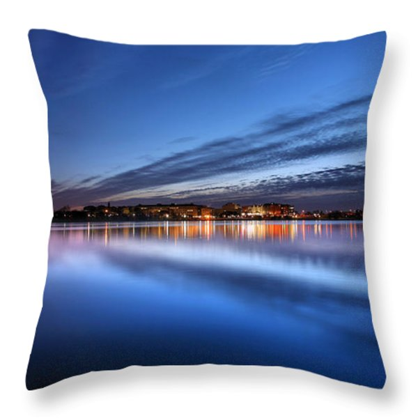 Twilight  Throw Pillow by JC Findley