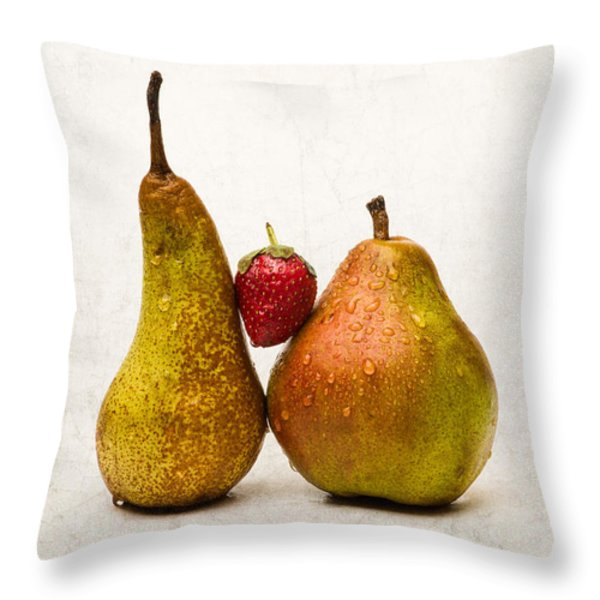 Two Lives One Heart Throw Pillow by Alexander Senin