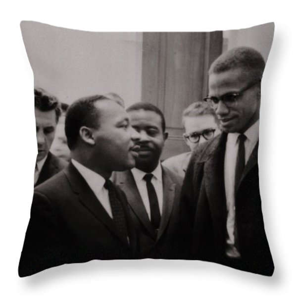 Two Means to an End Throw Pillow by Benjamin Yeager