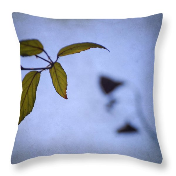 Two Monsters In The Shadows Throw Pillow by Guido Montanes Castillo