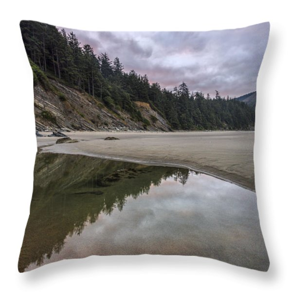Two Stars at Daylight Throw Pillow by Jon Glaser