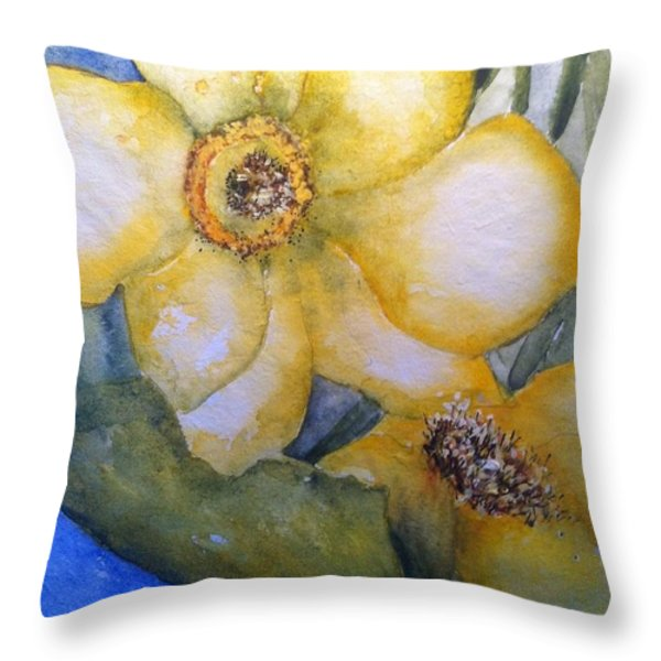 Twosome Throw Pillow by Sherry Harradence