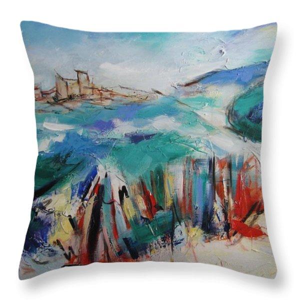 Umbria Throw Pillow by Elise Palmigiani