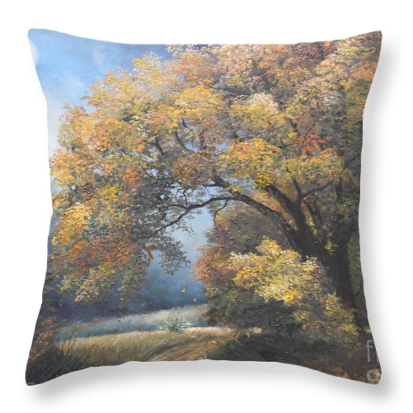 Under the moonlight  Throw Pillow by Sorin Apostolescu