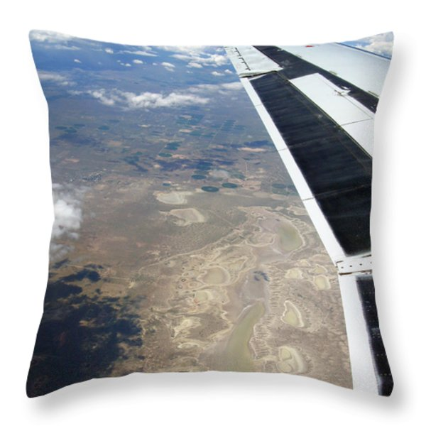 Under The Wing Series. #001 Throw Pillow by Ausra Paulauskaite